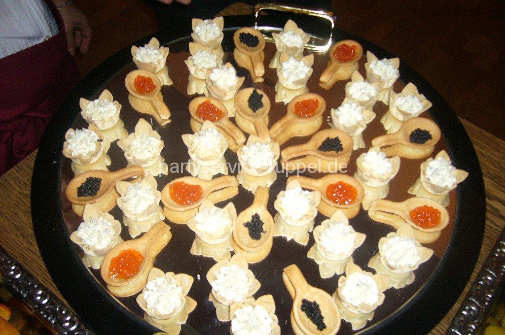 Abendbuffet:Fingerfood