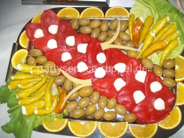 Mariniertes Gemüse / Маринованные овощи
