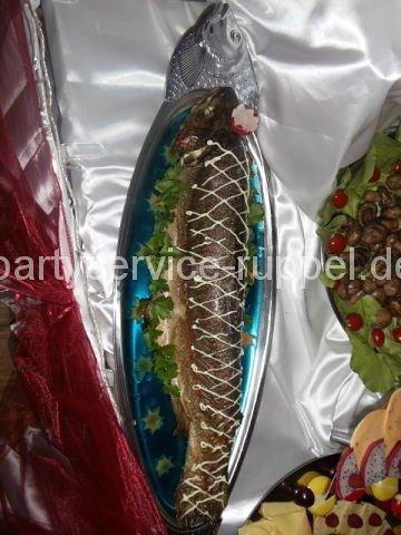 Gefüllter Fisch /  Фаршированная рыба