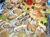 Abendbuffet: Fisch- und Meeresfrüchteplatte / Вечерний буфет: ассорти