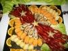 Abendbuffet: Fisch- und Meeresfrüchteplatte / Вечерний буфет: ассорти из рыбы и морепродуктов