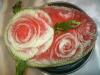 Carving: Wassermelonen-Rosen /  Карвинг: розы из арбуза