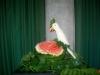Carving: Kakadu aus Rettich / Карвинг: какаду из редькиCarving Rettich Vogel