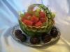 Carving: Wassermelonen-Körbchen / Карвинг: корзинка из арбуза