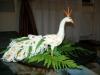 Carving: Paradiesvogel aus Rettich / Карвинг: райская птица из редьки