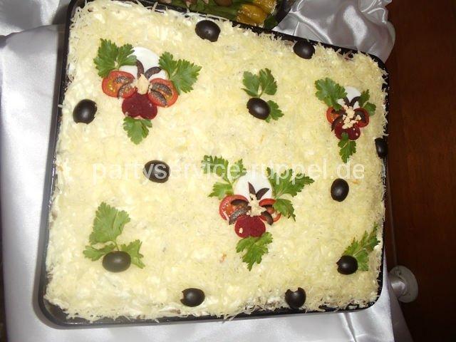 Salat mit Leber / Салат из печени